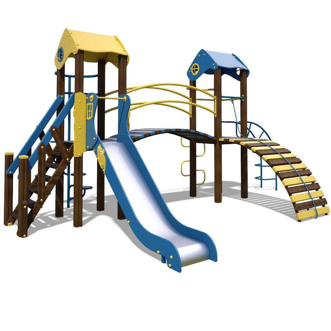 Ігрові майданчики для всіх вікових груп, рівней, здатностей та умов